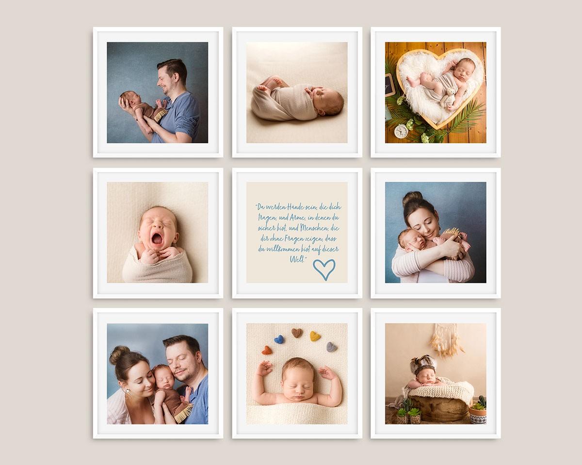 Fotocollage, Familienfotografie