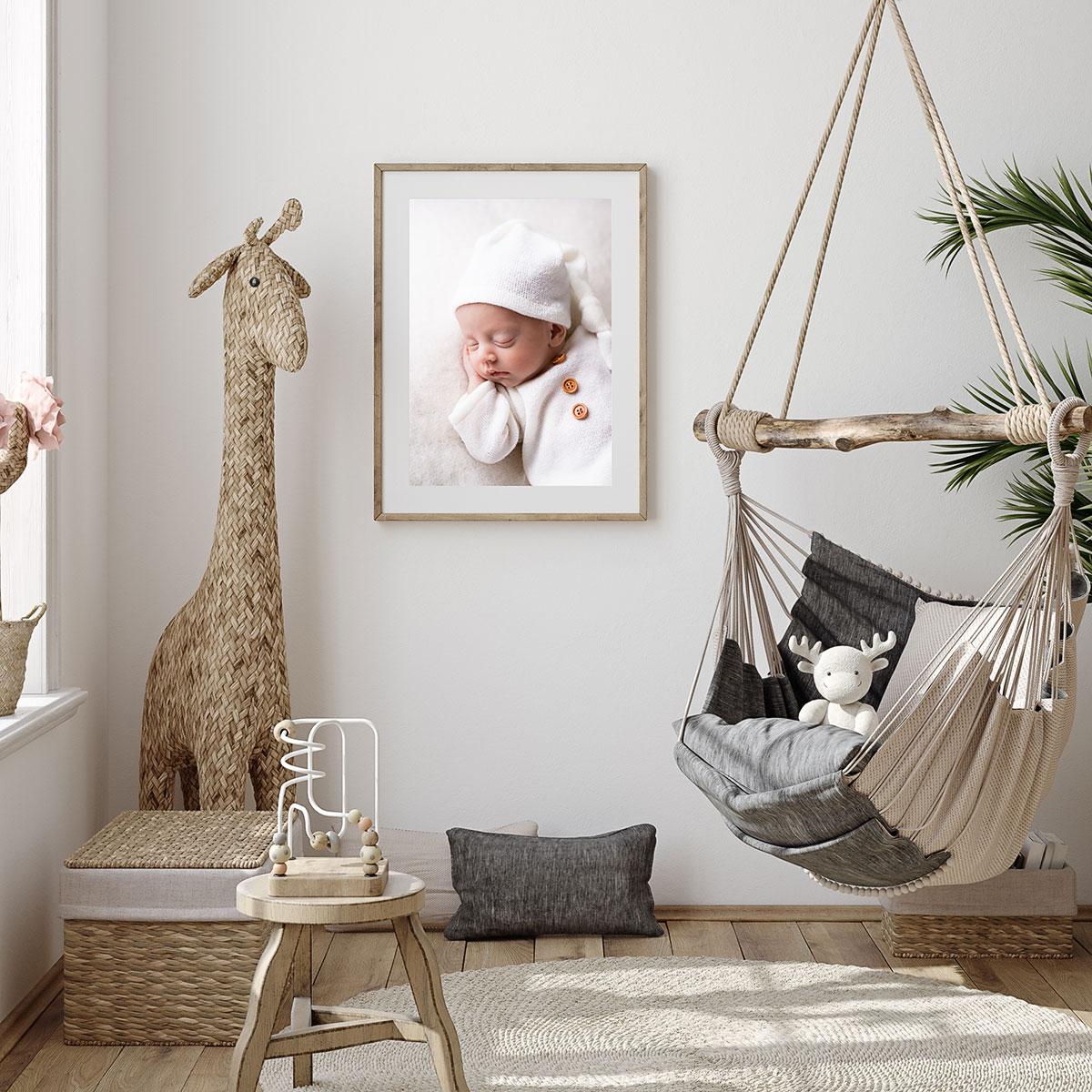 Scandi Boho Style Babyfotografie