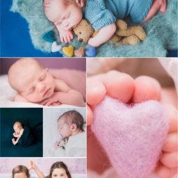 Babyfotograf im Krankenhaus