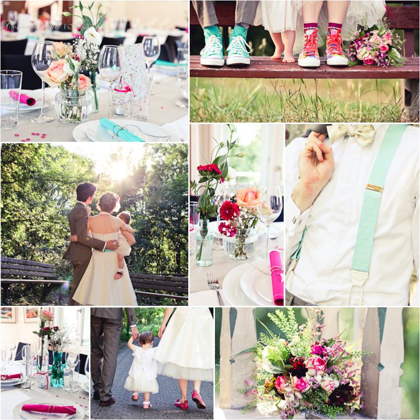 Hochzeit und Taufe