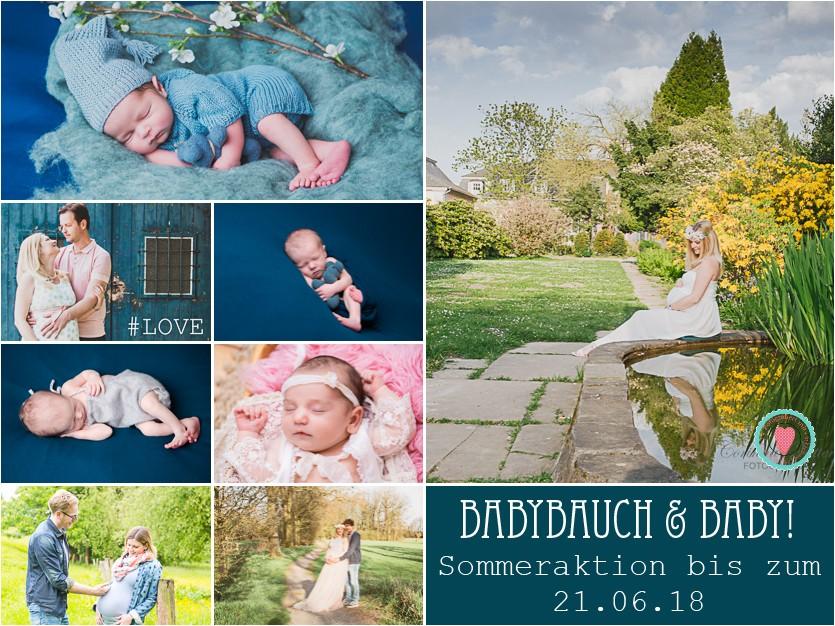 Babybauchshooting Neugeborenenfotos Aktionspreis